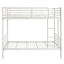 Buy Silentnight Oscar Metal Bunk Bed, White Online at johnlewis.com