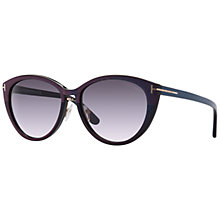 Buy TOM FORD FT0345 Women's Gina Cat-Eye Sunglasses Online at johnlewis.com