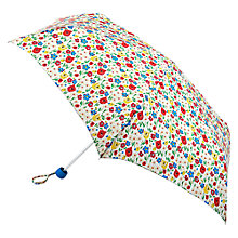 Buy Cath Kidson Mini Paradise Fields Umbrella, Chalk Online at johnlewis.com