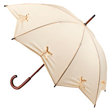 Buy Fulton Kensington Star Umbrella, White Online at johnlewis.com