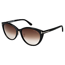 Buy Tom Ford FT0345 Women's Gina Cat-Eye Sunglasses - Awaiting remaining images Online at johnlewis.com