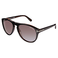 Buy TOM FORD FT0347 Square Sunglasses Online at johnlewis.com