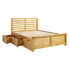 Buy John Lewis Nevada Storage Bed, Double Online at johnlewis.com