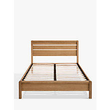 Buy John Lewis Montana Bedstead, Super Kingsize, Oak Online at johnlewis.com