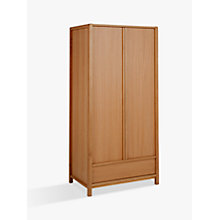 Buy John Lewis Montana 2 Door Wardrobe, Oak Online at johnlewis.com