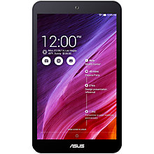 "Buy Asus MeMO Pad 8 Tablet, Intel Atom, Android, 8"", Wi-Fi, 16GB Online at johnlewis.com"