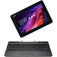 "Buy Asus Transformer Pad TF103C Tablet & Keyboard Dock, Intel Atom, Android, 16GB, Wi-Fi, 10.1"" Online at johnlewis.com"