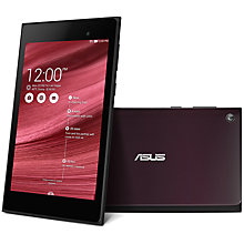 "Buy Asus MeMO Pad 7 ME572C Tablet, Intel Atom, Android, 7"", Wi-Fi, 16GB Online at johnlewis.com"