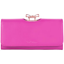 Buy Ted Baker Kikkie Crystal Bow Leather Matinee Purse Online at johnlewis.com