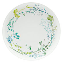Buy John Lewis Croft Collection Melamine Floral Side Plate, White Online at johnlewis.com