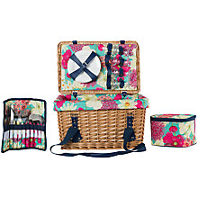 Buy Navigate Hothouse Wicker Picnic Hamper, 4 Person Online at johnlewis.com