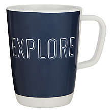 Buy House by John Lewis Explore Melamine Mug Online at johnlewis.com