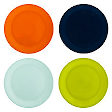 Buy House by John Lewis Plain Dinner Plates, Set of 4 Online at johnlewis.com