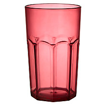 Buy John Lewis Summer Palm Soda Glass Online at johnlewis.com