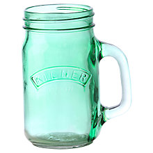 Buy Kilner Handled Jar, Green, 0.4L Online at johnlewis.com