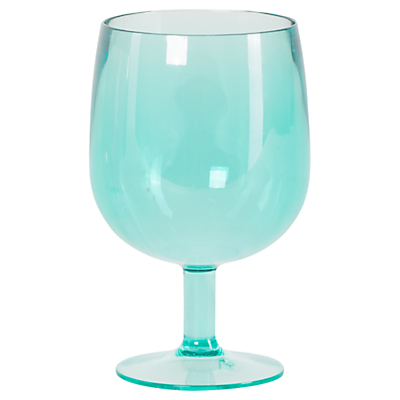 Navigate Hothouse Stacking Wine Glass, Teal