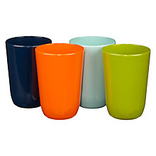 Buy House by John Lewis Plain Tumblers, Set of 4 Online at johnlewis.com