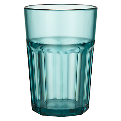 John Lewis Summer Palm Soda Glass
