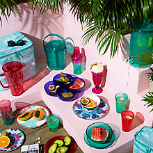 Buy John Lewis Summer Palm Picnicware Online at johnlewis.com