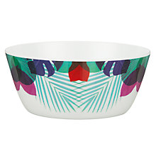Buy John Lewis Summer Palm Design Bowl Online at johnlewis.com