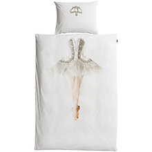 Buy Snurk Ballerina Single Duvet Cover and Pillowcase Set Online at johnlewis.com