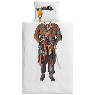 Image of Snurk Pirate Single Duvet Cover and Pillowcase Set