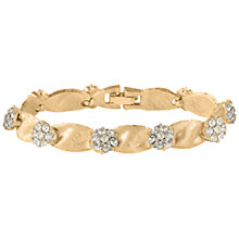 Buy Susan Caplan Vintage 1960s Trifari Gold Plated Swarovski Crystal Bracelet, Gold Online at johnlewis.com