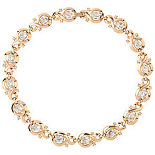 Buy Susan Caplan Vintage 1960s Trifari Gold Plated Swarovski Crystal Necklace, Gold Online at johnlewis.com