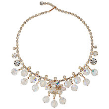 Buy Susan Caplan Vintage 1960s Juliana Gold Plated Diamante Necklace, Gold Online at johnlewis.com