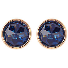 Buy Susan Caplan Vintage 1970s Gold Plated Swarovski Crystal Clip-On Earrings, Gold Online at johnlewis.com