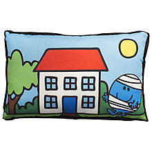 Buy Mr Men Mr Bump Cushion Online at johnlewis.com