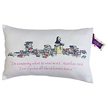 Buy Roald Dahl Matilda Story Time Boudoir Cushion Online at johnlewis.com