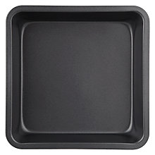 Buy John Lewis Square Cake Tin, L20cm Online at johnlewis.com