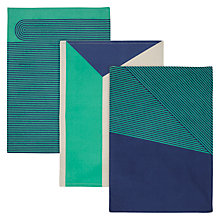 Buy House by John Lewis Tea Towels, Set of 3 Online at johnlewis.com