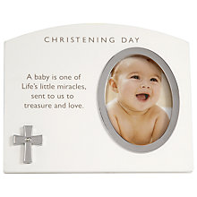 Buy John Lewis Baby Christening Day Photo Frame Online at johnlewis.com