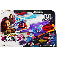 Buy Nerf Rebelle Spylight Starlight Nerf Blaster Online at johnlewis.com