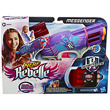 Buy Nerf Rebelle Messenger Blaster Online at johnlewis.com