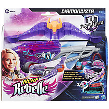 Buy Nerf Rebelle Diamondista Blaster Online at johnlewis.com