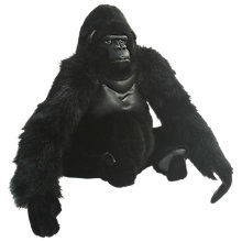 Buy Hansa Sitting Gorilla Soft Toy Online at johnlewis.com