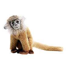 Buy Hansa Leaf Monkey Soft Toy, Beige Online at johnlewis.com