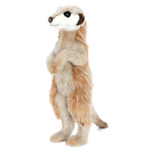 Buy Hansa Standing Meerkat Soft Toy Online at johnlewis.com