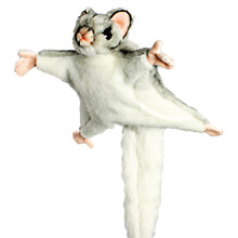 Buy Hansa Hand Sewn Sugar Glider Soft Toy Online at johnlewis.com