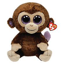 Buy Ty Beanie Boo Coconut Monkey Soft Toy, 40cm Online at johnlewis.com