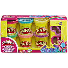 Buy Play-Doh Sparkle Set of 6 Online at johnlewis.com
