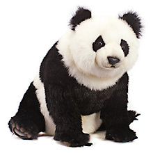 Buy Hansa Sitting Panda Cub Soft Toy, 51cm Online at johnlewis.com
