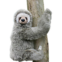 Buy Hansa Hand Sewn Sloth Toy Online at johnlewis.com