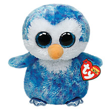 Buy Ty Beanie Boo Ice Cube Penguin Soft Toy, 16cm Online at johnlewis.com