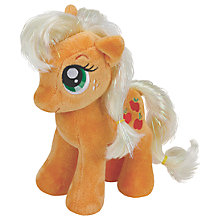 Buy Ty My Little Pony Applejack Beanie Baby, 17cm Online at johnlewis.com