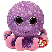 Buy Ty Beanie Boo Legs Octopus Soft Toy, 24cm Online at johnlewis.com