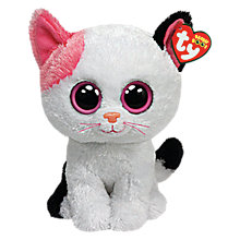 Buy Ty Beanie Boo Muffin Cat Soft Toy, 16cm Online at johnlewis.com